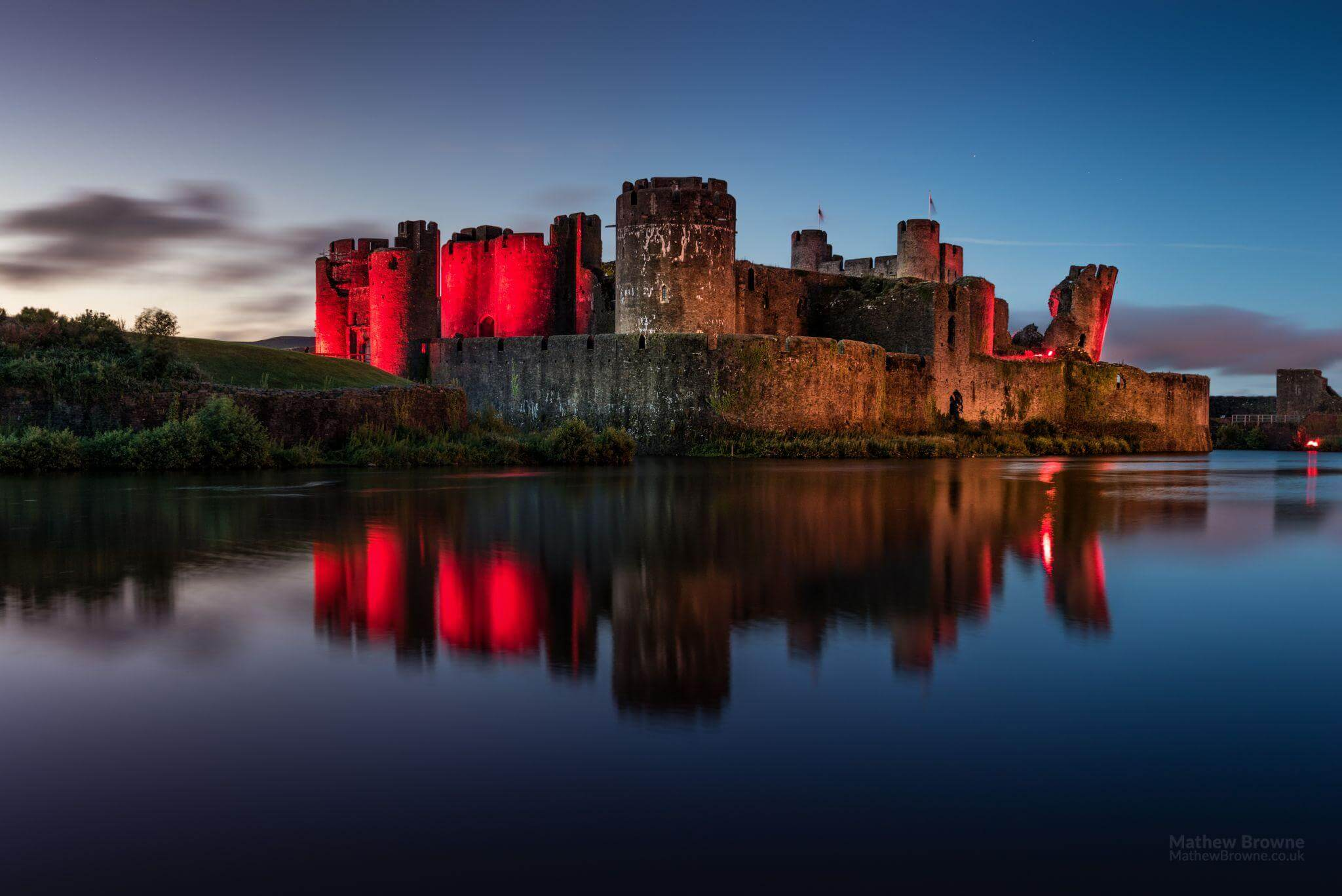 South Wales photography spots - Caerphilly Castle