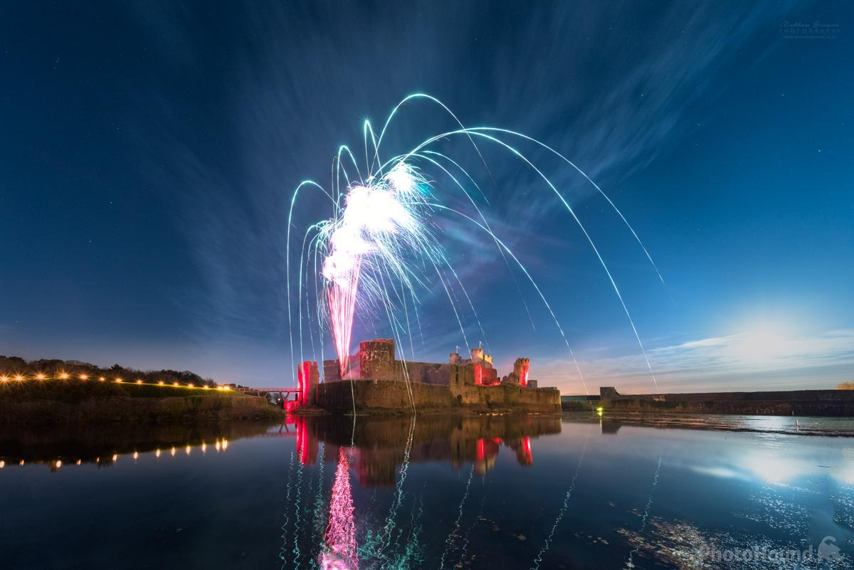 Image of Caerphilly Castle by Mathew Browne