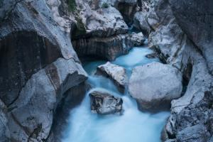 Triglav National Park photography locations - Velika korita Soče II