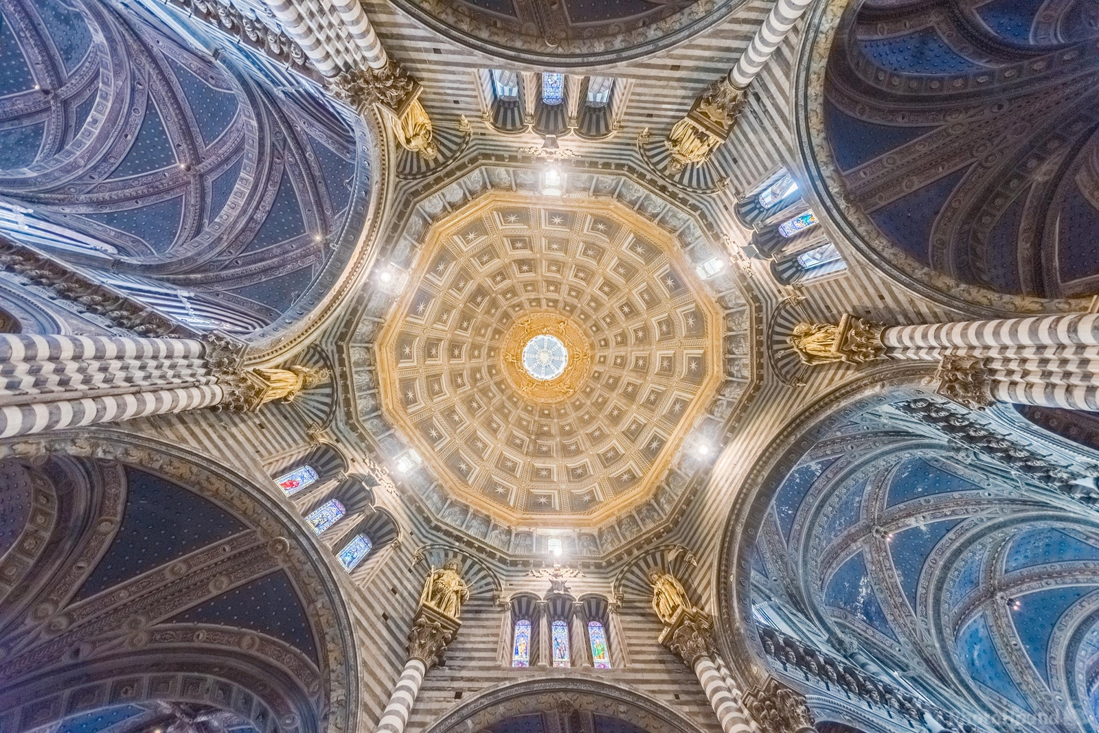 Image of The Siena Cathedral Interior by Luka Esenko