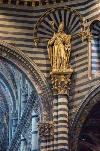 Picture of The Siena Cathedral Interior - The Siena Cathedral Interior
