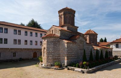 photography locations in Macedonia (FYROM) - Saint Naum Monastery