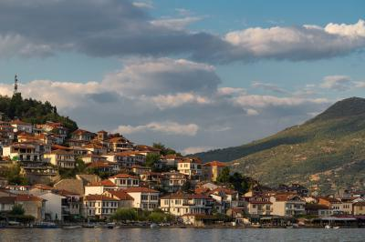 Photo of Ohrid Town from the Boat - Ohrid Town from the Boat