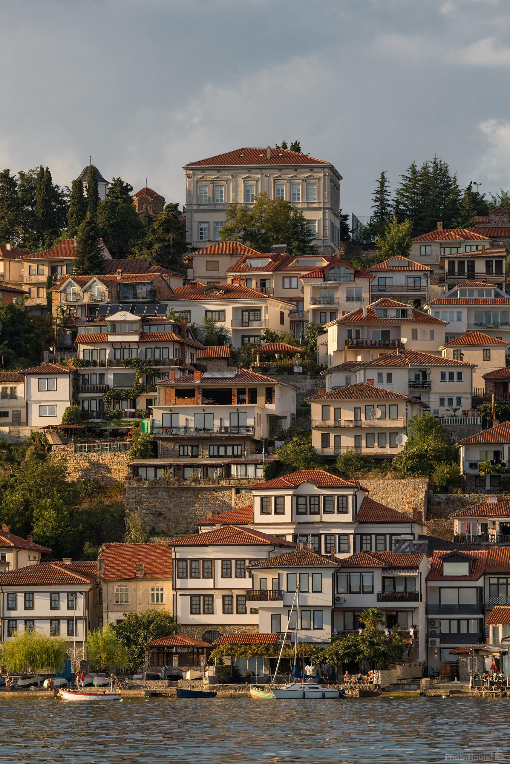 Image of Ohrid Town from the Boat by Luka Esenko