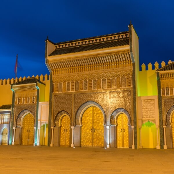 Royal Palace in Fez