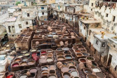 Fes Meknes photo locations - Fes Tanneries
