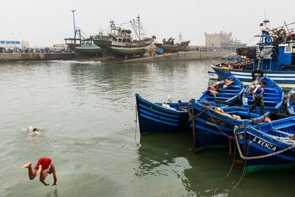 Blue Boats of Essaouira