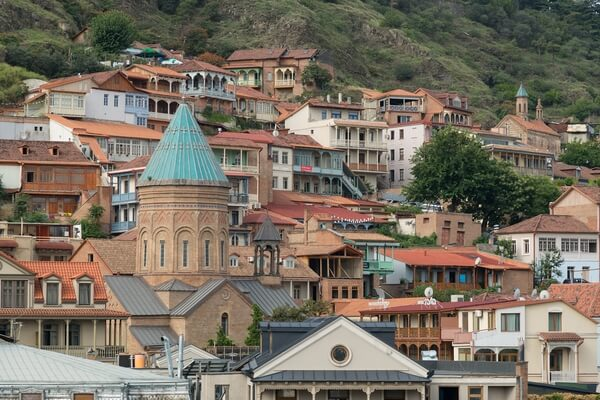 Views of Tbilisi old town