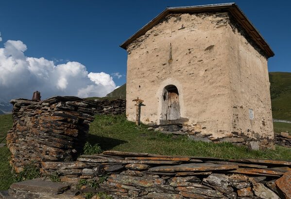 Small cute chapel near the monastery
