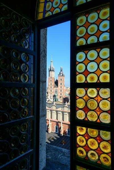 instagram spots in Krakow - Town Hall Tower