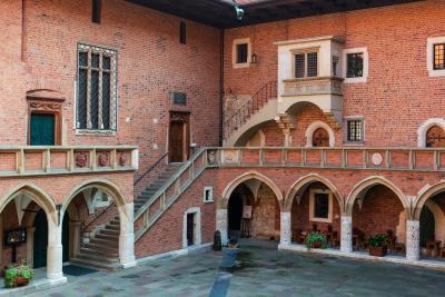 photo locations in Krakow - Collegium Maius Courtyard