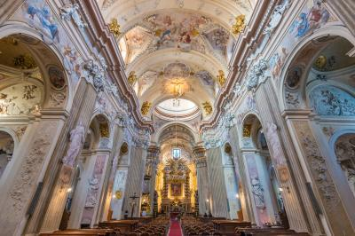 Krakow photo spots - St Anna Church