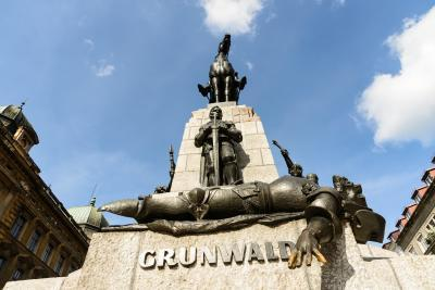 photo locations in Krakow - Grunwald Monument