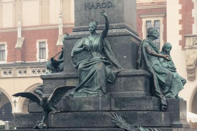 Krakow photo locations - Adam Mickiewicz Monument