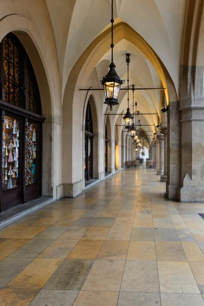 pictures of Krakow - Sukiennice (Cloth Hall)