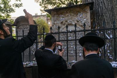 images of Krakow - Remuh Synagogue and Cemetery