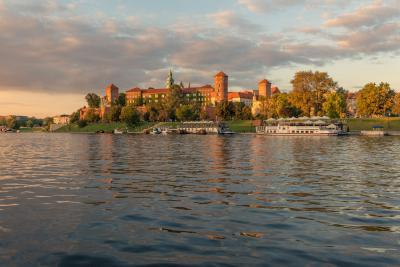 pictures of Krakow - Wawel Castle and Vistula River