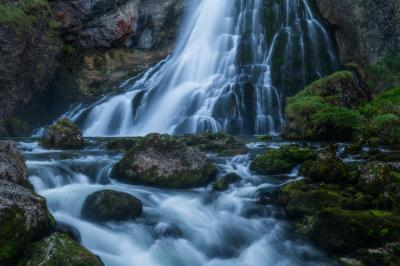 Austria photo locations - Golling Waterfall