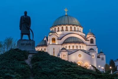 images of Belgrade - Temple of Saint Sava (Hram Svetog Save)