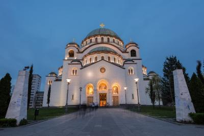 pictures of Belgrade - Temple of Saint Sava (Hram Svetog Save)