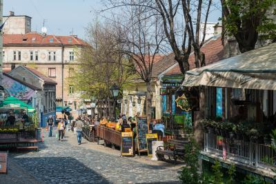 images of Belgrade - Skadarlija Street