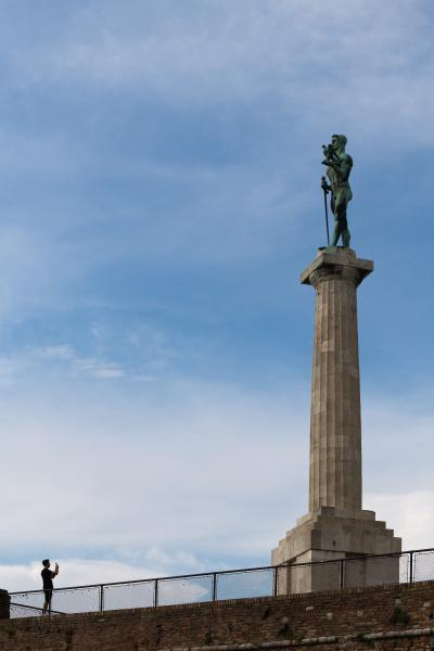 images of Belgrade - The Victor (Pobednik) Statue