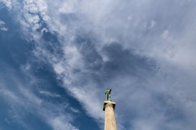 pictures of Belgrade - The Victor (Pobednik) Statue