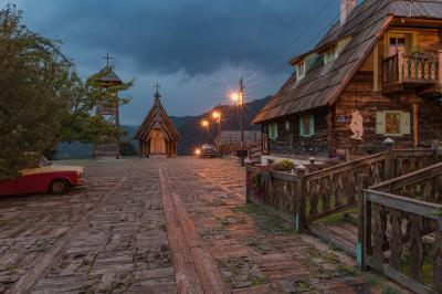 photography spots in Serbia - Drvengrad (Wooden Town)
