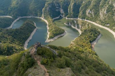 instagram spots in Serbia - Uvac Canyon