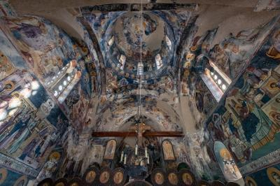 photography spots in Serbia - Studenica Monastery