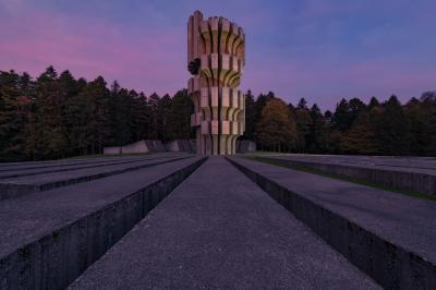photography spots in Bosnia and Herzegovina - Freedom Monument Kozara