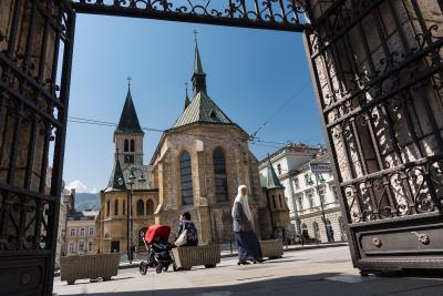 images of Sarajevo - Sacred Heart Cathedral
