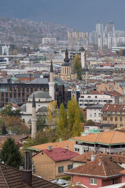 pictures of Sarajevo - Yellow Fortress (Žuta Tabija) City Views