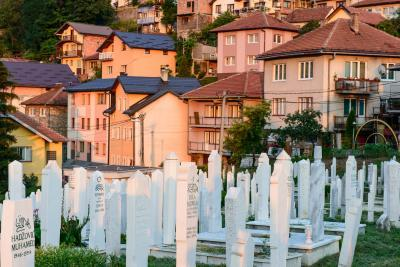 photo spots in Bosnia and Herzegovina - Alifakovac Cemetery