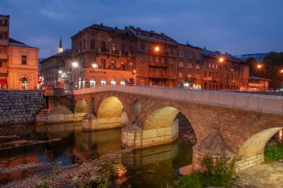 pictures of Sarajevo - Latin Bridge (Latinska ćuprija)