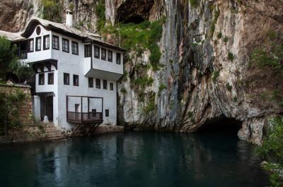 instagram spots in Federacija Bosne I Hercegovine - Blagaj Tekke and Buna Source