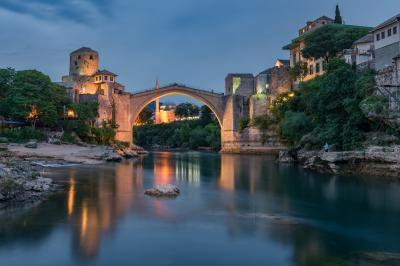 Bosnia and Herzegovina photography spots - Old Bridge (Stari Most) with Neretva