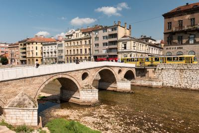 images of Sarajevo - Latin Bridge (Latinska ćuprija)