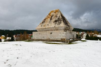 photography spots in Montenegro - Žabljak WWII Monument