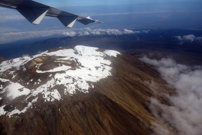 Kenya photography locations - Mt Kilimanjaro from theFlight Nairobi-Zanzibar