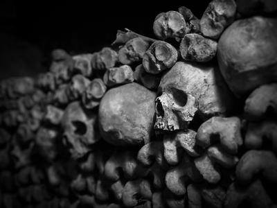 instagram spots in Ile De France - Paris Catacombs