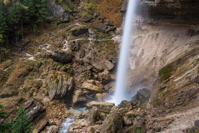 pictures of Triglav National Park - Lower Peričnik Waterfall