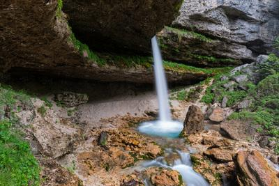 photo locations in Triglav National Park - Upper Peričnik Waterfall