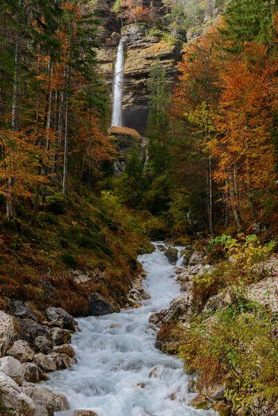 photos of Triglav National Park - Peričnik Waterfall - Road View