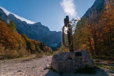 Triglav National Park photography spots - Vrata Valley - The Giant Piton