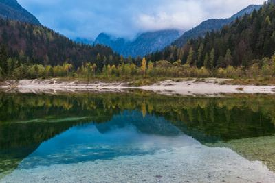pictures of Triglav National Park - Lake Jasna - Prisojnik View