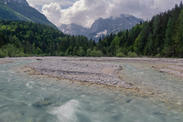 Pišnica River & Julian Alps