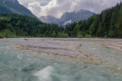 photography spots in Triglav National Park - Pišnica River & Julian Alps