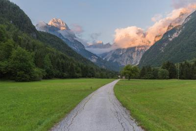 images of Triglav National Park - Koritnica Valley Views