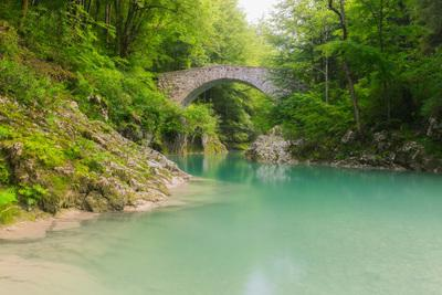 Soča River Valley photography locations - Napoleon Bridge at Nadiža